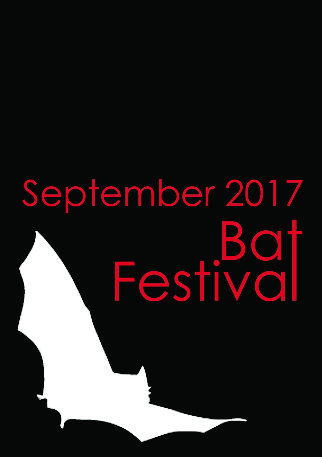 Bat Festival 2017 logo