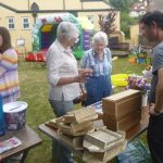 Mill Water summer fair bat stall